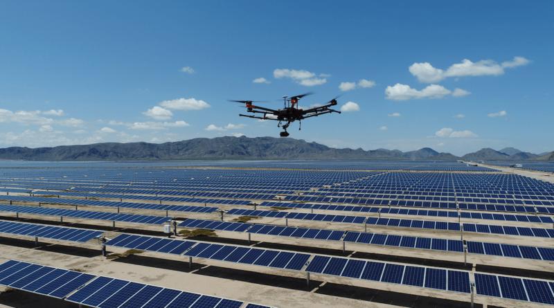 Drones inspection solaire maroc